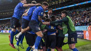 Itália celebra em Wembley