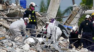 Search and rescue operations resumed with workers combing done  the debris of the Champlain Tower South complex, Monday, 5 July 2021