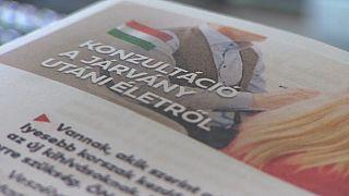 Governo húngaro faz consulta pública a questões polémicas