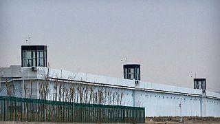 Çin'in Şinman bölgesindeki Dabacheng'de 3 numaralı toplama merkezi