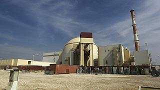 FILE - The reactor building of the Bushehr nuclear power plant is seen, just outside the southern city of Bushehr, Iran, Tuesday, Oct. 26, 2010.