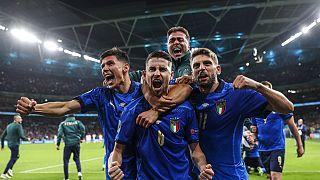 Euro 2020'de ilk finalist penaltılarla İspanya'yı eleyen İtalya oldu.