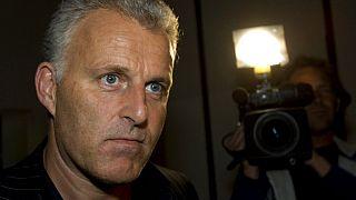 Peter R. de Vries, journaliste néerlandais blessé par balles mardi soir dans la rue à Amsterdam, archives