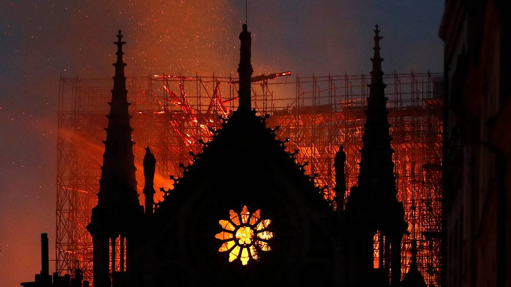 Health danger from Notre-Dame fire kept from public, lawsuit claims