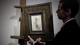 Leonardo da Vinci'nin Aziz Sebastian çizimi