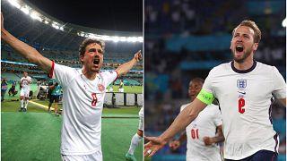 Danimarkalı oyuncu Thomas Delaney ve İngiltere Milli Takımı'nın kaptanı golcü Harry Kane Euro 2020'de başarılı performanslara imza attı.
