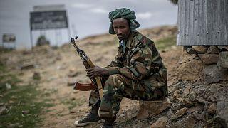 Guerrilheiro da Frente de Libertação Popular do Tigray (ARQUIVO)