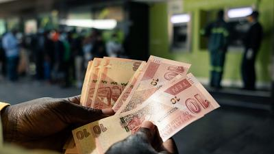 Zimbabwe : le plus gros billet insuffisant pour s'acheter du pain
