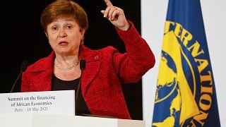 مديرة صندوق النقد الدولي كريستالينا جورجييفا.