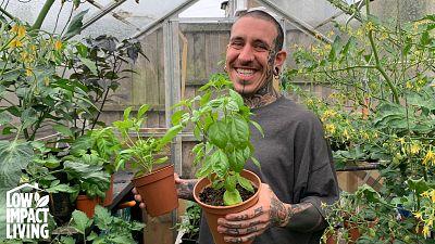 Meet Alessandro Vitale - an Italian tattoo artist who built a garden oasis in urban London.