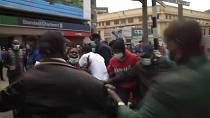 Kenya protesters clash with police at lockdown demo