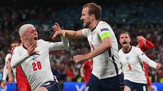 İngiltere - Danimarka maçı