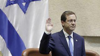 الرئيس الاسرايلي إسحق هرتسوغ
