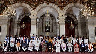 India új kormánytagjai felesküdtek