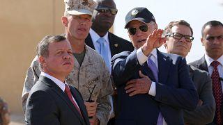 من لقاء جمع بايدن (كان نائب الرئيس باراك أوباما وقتها) بالملك عبد الله الثاني في 2016