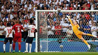 بازی انگلستان با دانمارک در نیمه نهایی یورو ۲۰۲۰