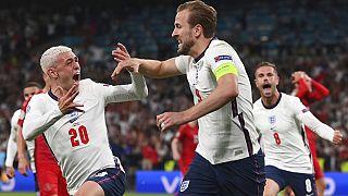 Harry Kane victorieux face au Danemark à Wembley