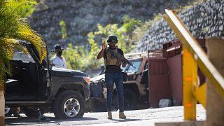 نیروهای امنیتی در نزدیکی منزل رئیسجمهوری هائیتی