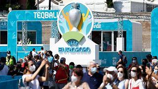 برگزاری مسابقات فوتبال جام ملتهای اروپا