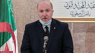 الوزير الأول الجزائري ووزير المالية أيمن بن عبد الرحمن