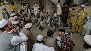 نظامیان آمریکایی با مترجم افغان