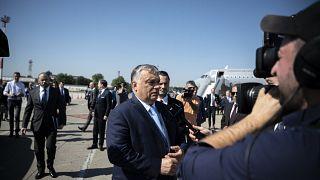 Orbán Viktor Belgrádban