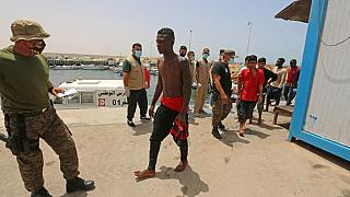 40 migrants taken to Tunisia after boat failure