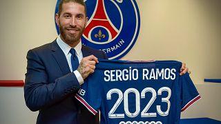 La nuova maglia di Sergio Ramos. Avrà il numero 4.