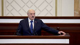 Belarusian President Alexander Lukashenko claimed victory in a disputed election in August.