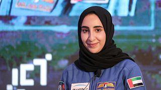 Arap dünyasının ilk kadın astronotu Nora Al-Matrooshi