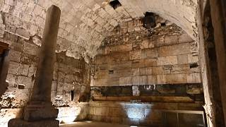 يتضمن الاكتشاف الأحدث الذي تعلن عنه سلطة الآثار الإسرائيلية في ما تطلق عليه اسم أنفاق الجدار الغربي في البلدة القديمة