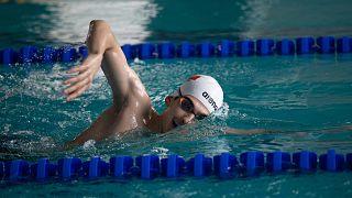 Türkiye rekortmeni milli yüzücü Yiğit Aslan