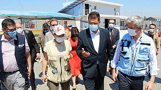 EU Commissioner for Crisis Management Janiz Lenarčič urged the UN to keep the Bab al-Hawa crossing into war-torn Syria open