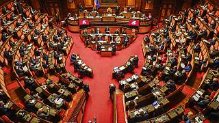 The Italian Senate has approved lowering the age of citizens eligible to vote for Parliament's upper chamber from 25 to 18.