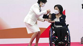Olympia: Fackellauf in Tokio vor fast leeren Rängen