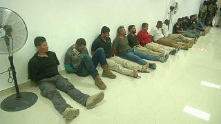 Quince de los detenidos son colombianos, algunos de ellos exmilitares y dos estadounidenses