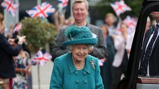 The queen walked the famous cobbled street and visited the studio where the beloved Rovers Return pub is set