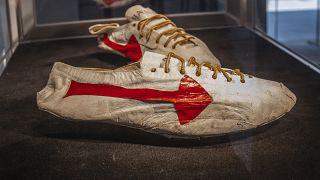 Handgemachter Prototyp von Nike-Mitbegründer Bill Bowerman