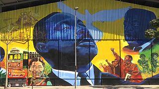 Célébration des leaders noirs américains et brésiliens à Rio