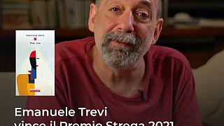 """Vince la LXXV edizione de Il Premio Strega Emanuele Trevi con """"Due vite """" edito da Neri Pozza."""