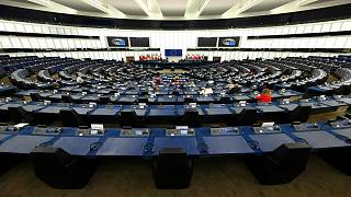 جلسة عامة للبرلمان الأوروبي في ستراسبورغ بشرق فرنسا يوم الاثنين 7 يونيو 2021.