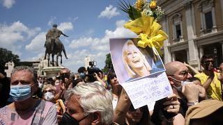 """Abschied von der """"Königin des italienischen Fernsehens"""""""