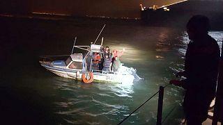 رهگیری قایق مهاجران توسط ژاندارمری فرانسه