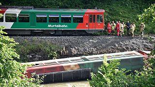 Unglück der Murtalbahn in Österreich