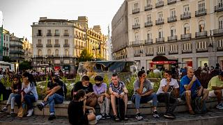 La plaza de Sol en Madrid, España, el jueves 8 de julio de 2021.