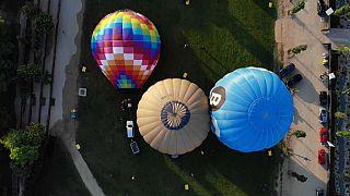 Hőlégballon fesztivál Katalóniában