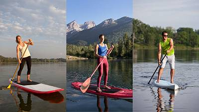 Where are the best places in Europe for stand-up paddle boarding?
