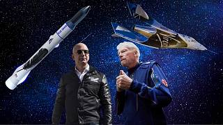 Jeff Bezos's Blue Origin and Richard Branson's Virgin Galactic are both taking their first steps into space tourism this month.