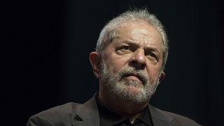Brazil's Former President Luiz Inacio Lula da Silva on June 6, 2016 in Rio de Janeiro, Brazil.
