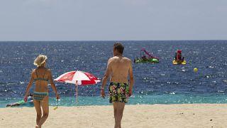 Strandleben auf Mallorca